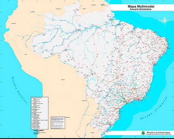 Mapa Multimodal
